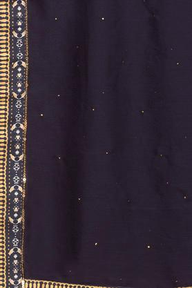 Womens Solid Embellished Dupatta