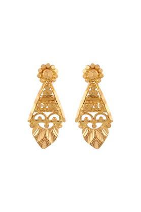 buy whp jewellers womens yellow gold fancy stud earrings