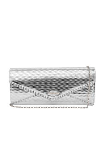 KASHISH -  Silver Wallets & Clutches - Main