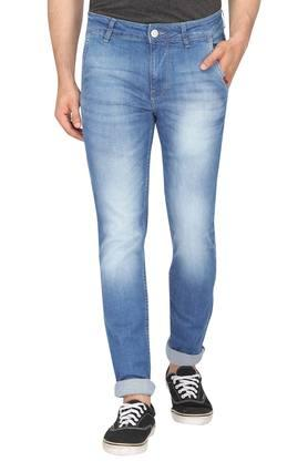 Mens 4 Pocket Mild Wash Jeans (Jackson Fit)