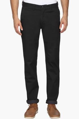 IZOD Mens Slim Fit 5 Pocket Solid Chinos - 202174123