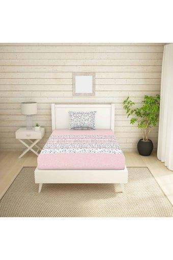 SPACES -  PinkSingle Bed Sheets - Main