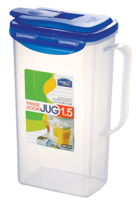 LOCK & LOCK Aqua Water Jug With Flip Top Lid - 1.5 Litres
