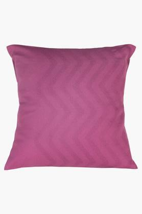 Valley Of Flowers-Flora 100% Cotton 1 Bedcover & 2 Bolster Covers & 3 Cushion Covers - Purple