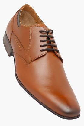 RUOSH Mens Leather Lace Up Derbys - 202640559