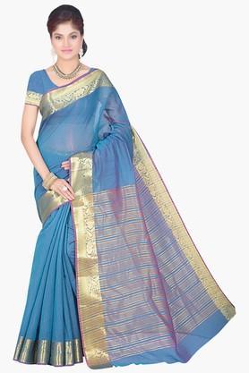 DEMARCAWomen Cotton Silk Designer Saree - 202142797