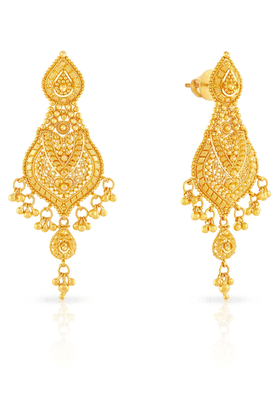 MALABAR GOLD AND DIAMONDS Womens Malabar Gold Earrings - 201594313