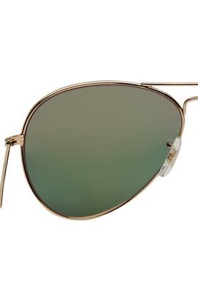 Mens Full Rim Aviator Sunglasses
