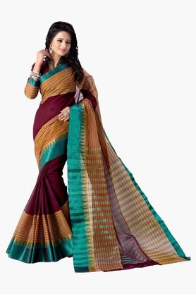Women Pure Cotton Saree