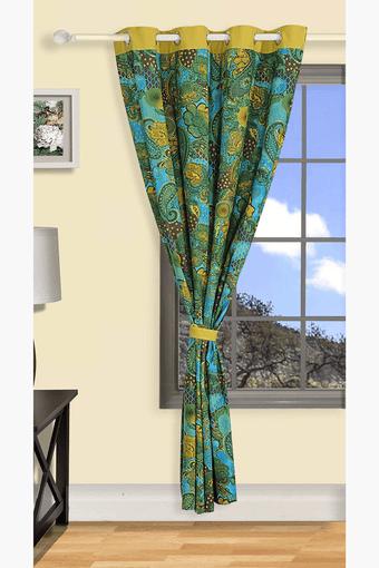 Printed Eyelit Curtain