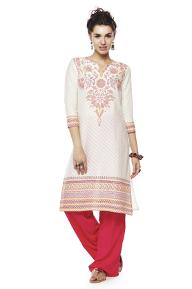 GLOBAL DESI Women Cotton Kurta