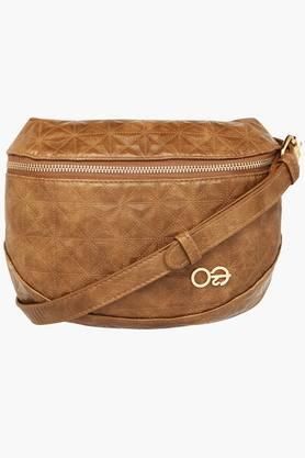 E2O Womens Zipper Closure Sling Bag - 201564170