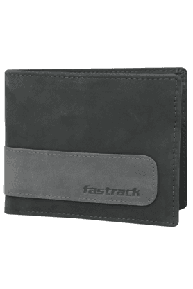 FASTRACK Mens Genuine Leather 2 Fold Wallet
