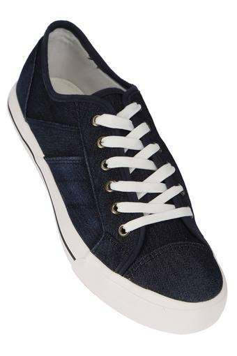 ALLEN SOLLY -  Navy Casual Shoes - Main