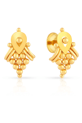 MALABAR GOLD AND DIAMONDS Womens Malabar Gold Earrings - 201594409