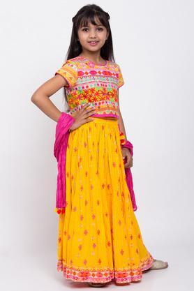 BIBA GIRLS - YellowIndianwear - 5
