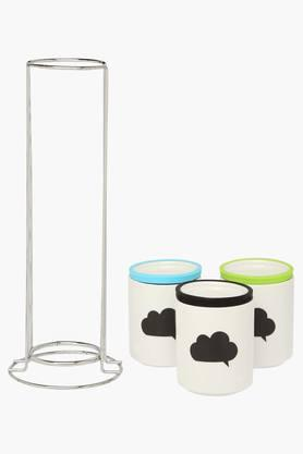 Printed Canisters with Stand