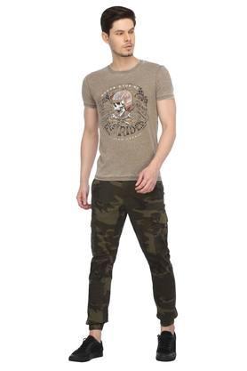 Mens 7 Pocket Camouflage Cargos