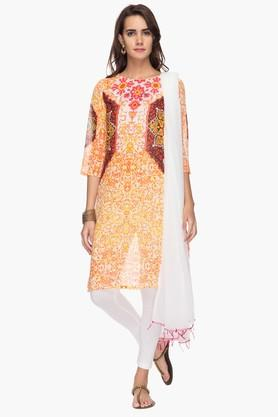 IMARA Womens Printed Churidar Suit - 201430628