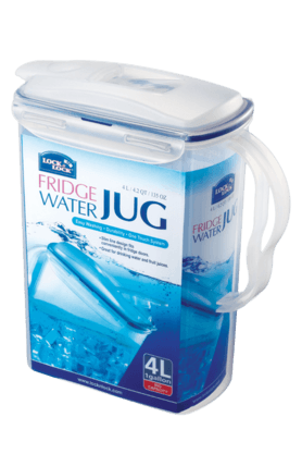 LOCK & LOCK Aqua Fridge Door Water Jug - 4 Litres