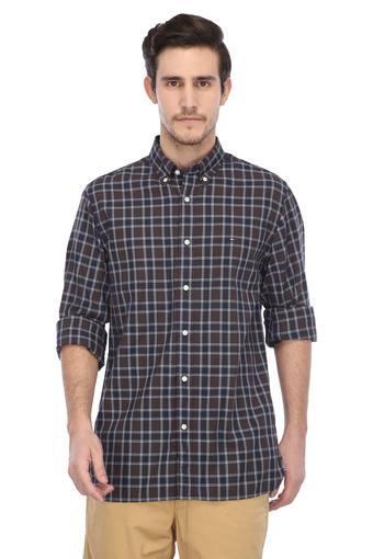 TOMMY HILFIGER -  BlueCasual Shirts - Main