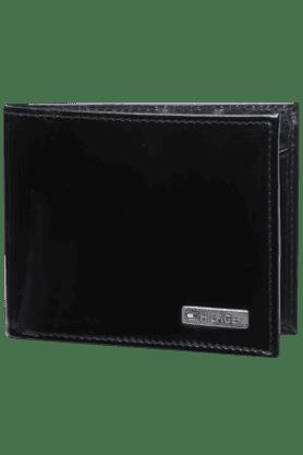 TOMMY HILFIGERMens Candor Leather 1 Fold Wallet