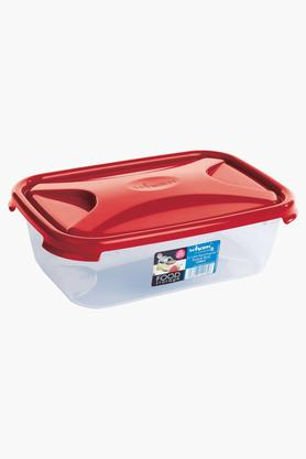 WHATMORE Rectangular Airtight Food Storage Box With Lid - 2.7 Lts
