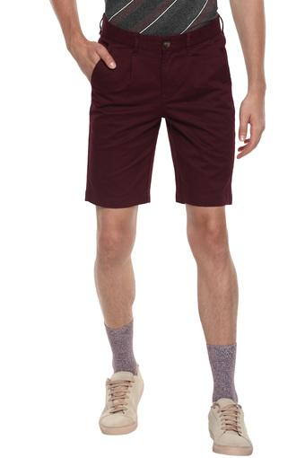 Mens 4 Pocket Solid Shorts