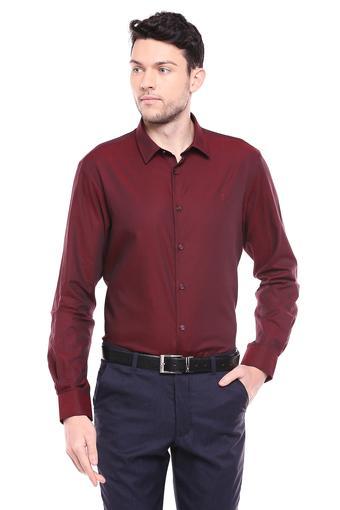 INDIAN TERRAIN -  MaroonShirts - Main