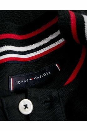 TOMMY HILFIGER - Black T-Shirts & Polos - 3