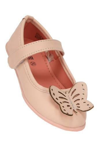 Girls Casual Wear Velcro Closure Ballerinas