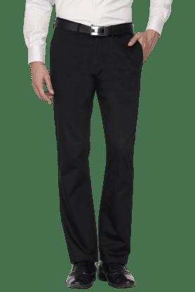BLACKBERRYSMens Slim Fit Solid Chinos - 200889324