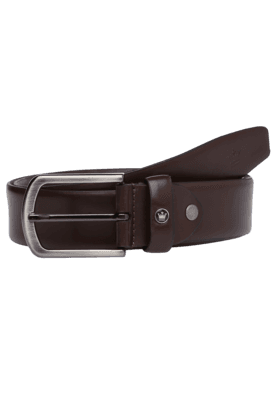 LOUIS PHILIPPE Mens Formal Leather Belt