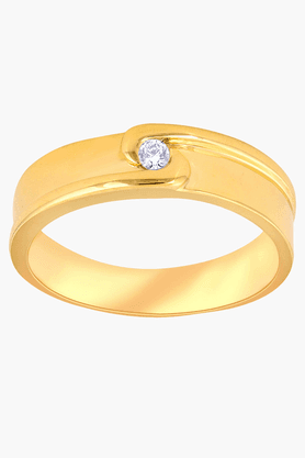 MALABAR GOLD AND DIAMONDS Mens Mine Diamond Ring- Size 26
