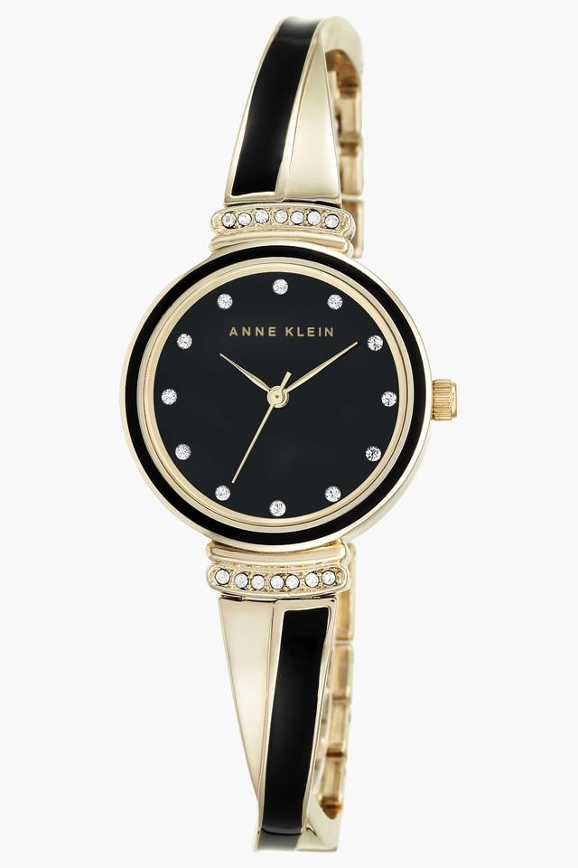 Black Glossy Dial Womens Watch- AK2216BKGBJ