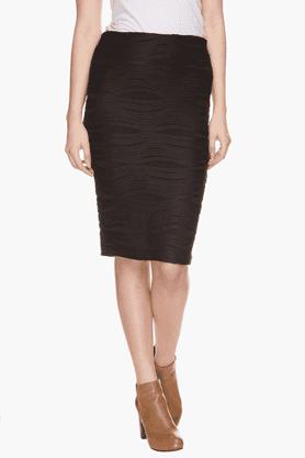 VETTORIO FRATINIWomens Textured Skirt