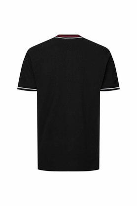 TOMMY HILFIGER - Black T-Shirts & Polos - 1