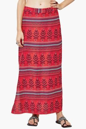 GLOBAL DESIWomen Printed Skirt