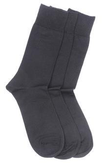 Men Basic Crew-length Socks (Set Of 3)