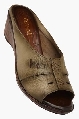 CATWALKWomens Casual Slipon Wedge Sandals (Buy 2 Get Flat 33% On Lower MRP)