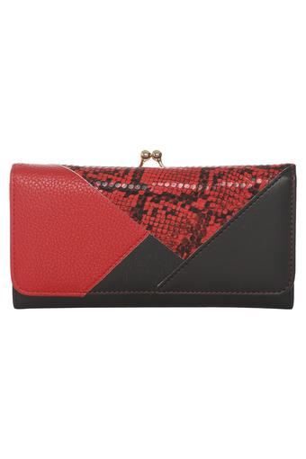 HAUTE CURRY -  Red Wallets & Clutches - Main
