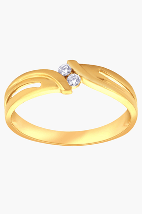 MALABAR GOLD AND DIAMONDS Unisex Mine Diamond Ring- Size 23