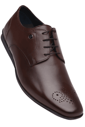 LOUIS PHILIPPE Mens Leather Lace Up Smart Formal Shoe