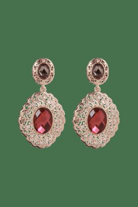 JAZZDesigner Kundan Gold Plated Earring