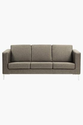 Roster Slate Fabric Sofa (3 - Seater)