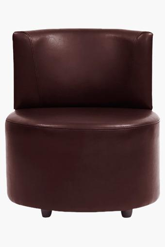 Wine Red Leatherette Modular Sofa (Seater)