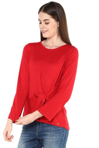 MADAME -  Red Tops & Tees - Main