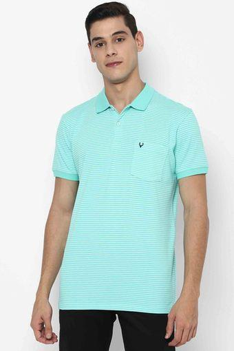 ALLEN SOLLY -  GreenT-Shirts & Polos - Main