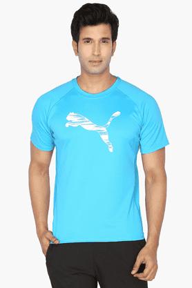 PUMAMens Round Neck Short Sleeves Printed T-Shirt - 200835781