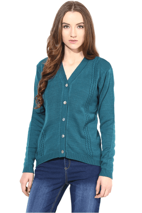 THE VANCA Women Woollen Sweater - 200344406